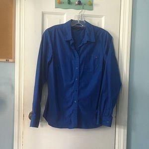 Tommy Hilfiger buttoned blue shirt
